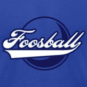 foosball retro - Men's T-Shirt by American Apparel