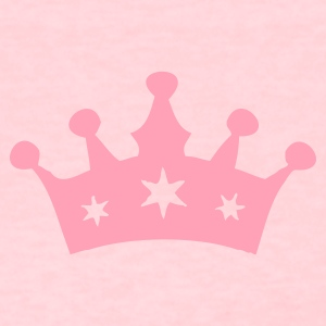 Pink Princess Crown Women's T-Shirts - Women's T-Shirt