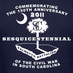 South Carolina's 150th Anniversary Tee