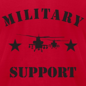 Red army_tops_choppers T-Shirts - Men's T-Shirt by American Apparel