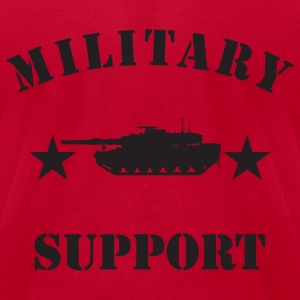 Red army tops tank 2 T-Shirts - Men's T-Shirt by American Apparel