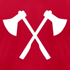 Red Ax - Firefighter T-Shirts