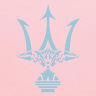 Design ~ TRIDENT Hoodie - Poseidon - Kid Size Hoodie
