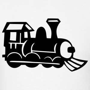 Train Engine 1c - Men's T-Shirt