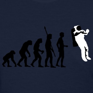 Navy evolution_astronaut_2c Women's T-Shirts - Women's T-Shirt