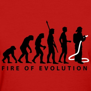 Red evolution_feuerwehr_2c Women's T-Shirts - Women's T-Shirt