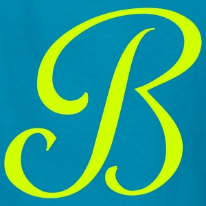 Royal blue B - Letter Kids' Shirts - Kids' T-Shirt