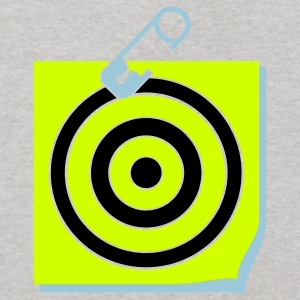 Heather grey pinned target (3c) Sweatshirts - Kids' Hoodie