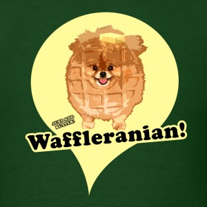 Forest green Waffleranian T-Shirts - Men's T-Shirt