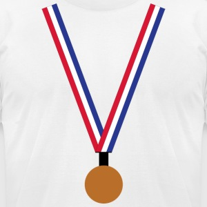 Bronze Medal - Men's T-Shirt by American Apparel