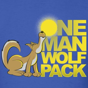 One Man Wolf Pack T-Shirts - Men's T-Shirt