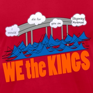 We the Kings - Skyway Avenue - Men's T-Shirt by American Apparel