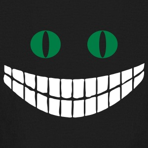 Black Cheshire cat (2c) Kids' Shirts - Kids' Long Sleeve T-Shirt