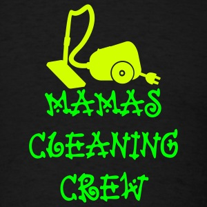 Black mamas cleaning crew (2c) T-Shirts - Men's T-Shirt