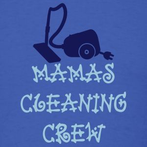 Royal blue mamas cleaning crew (2c) T-Shirts - Men's T-Shirt