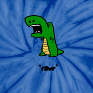 Design ~ Dino *Rawr*   tie-dye