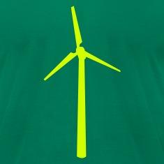 Kelly green Wind wheel T-Shirts