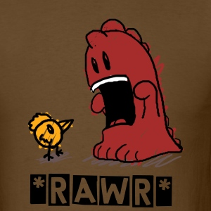 Le Petit Monstre *RAWR* (Bottom Corner) - Men's T-Shirt