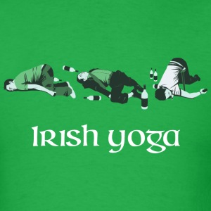 Irish Yoga T-Shirts - Men's T-Shirt