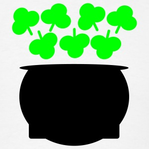 Pot of Shamrocks - Men's T-Shirt