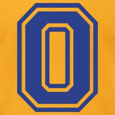 Gold Letter O T-Shirts