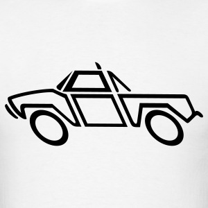 Pickup Truck 1c - Men's T-Shirt