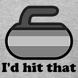 I'd hit that on the nose Curling Shirt - Men's T-Shirt by American Apparel