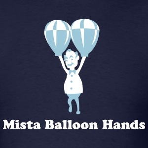 Mista Balloon Hands - Men's T-Shirt