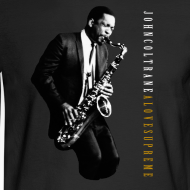 Design ~ John Coltrane - A Love Supreme - Black Long Sleeve Tee