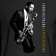 Design ~ John Coltrane - A Love Supreme - Black Long Sleeve Tee