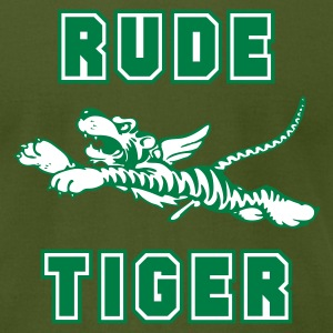 Olive Rude Tiger Men - Men's T-Shirt by American Apparel
