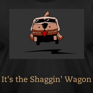 Shaggin' Wagon - Men's T-Shirt by American Apparel