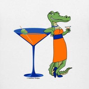 Gatortini Diva - Women's V-Neck T-Shirt