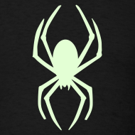 Design ~ SPIDER GLOW IN THE DARK T-Shirts on Sale