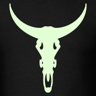 Design ~ LONGHORN GLOW IN THE DARK T-Shirts on Sale