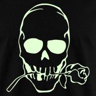 Design ~ SKULL TATTOO GLOW IN THE DARK T-Shirts on Sale