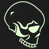 Design ~ SKULL GLOW IN THE DARK T-Shirts on Sale