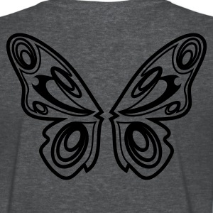 Deep heather Butterfly wings Women's T-Shirts - Women's T-Shirt