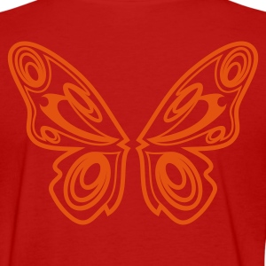 Red Butterfly wings Women's T-Shirts - Women's T-Shirt