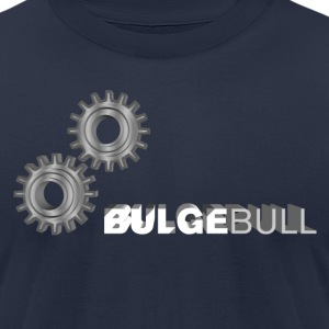 Navy bulgebullgeard T-Shirts - Men's T-Shirt by American Apparel