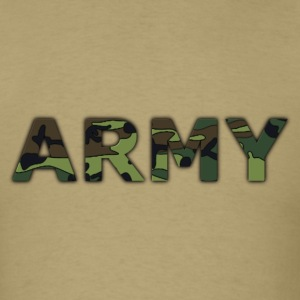 Khaki army T-Shirts - Men's T-Shirt