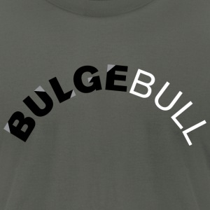 Asphalt bulgebull_curve2 T-Shirts - Men's T-Shirt by American Apparel