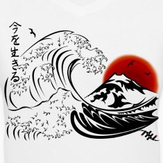 EthanX Carpe Diem Japanese Big Wave