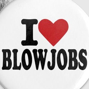 White Blowjobs - Sex Buttons - Small Buttons