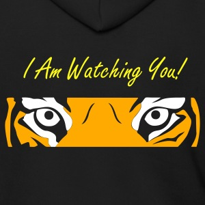 Black eyeoftiger Zip Hoodies/Jackets - Men's Zip Hoodie