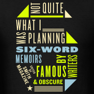 Design ~ Men's Six Memoir Tee