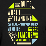Design ~ Ladies Six Memoir Tee