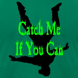 Kelly green Catch Me If You Can T-Shirts - Men's T-Shirt by American Apparel