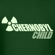 Design ~ CHERNOBYL CHILD GLOW-IN-THE-DARK