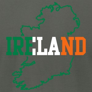 Asphalt ireland  T-Shirts - Men's T-Shirt by American Apparel